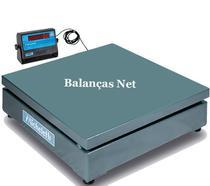 Balança Eletrônica Industrial 1000kg x 500g Plataforma 1,00x1,00 Envio Imediato - Micheletti