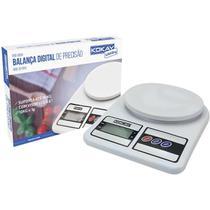 Balanca eletronica precisao digital ate 10kg bco unidade - Santana Centro