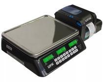 Balança Etiquetadora 32Kg Wifi UPX Imprime Tabela Nutricional -