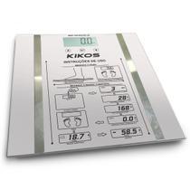 Balança Ison De 2.5 Kg Á 150 Kg Vidro Temperado Kikos -