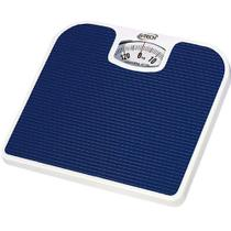 Balança Mecânica de Banheiro Azul Pesa Ate 130kg Antiderrapante G-tech -