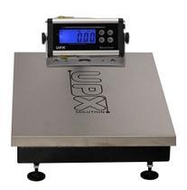 Balança Plataforma Inox Upx 300kg /50g-44x60 Bateria -