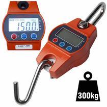 Balança suspensa digital precisão de gancho 300 Kg CBRN02665 - Commerce Brasil