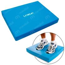 Balance Pad Almofada de Equilibrio Retangular 49 Cm Azul  Liveup -