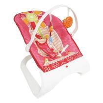 Balanço Cadeira cadeirinha Descanso Bebe som e vibração Rosa - Importway