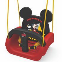 Balanço de Pendurar Mickey - 3 em 1 - Vermelho e Preto - 19798 - Xalingo -