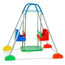 Balanço Infantil 2 Cadeiras Com Estrutura Jundplay -