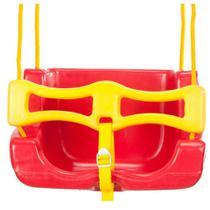 Balanço Infantil Cadeira Vermelha - Jundplay