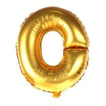 Balão Metalizado 18pol Letra O Dourado 01un - Mothelucci