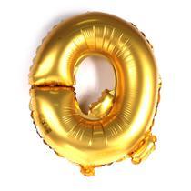 Balão Metalizado 32pol Letra Q Dourado 01un - Mothelucci