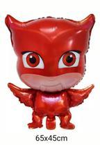 Balão Metalizado Corujita PJ Masks - Regina