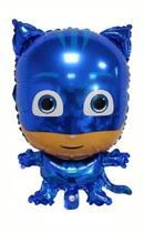 Balão Metalizado Menino Gato PJ Masks - Regina