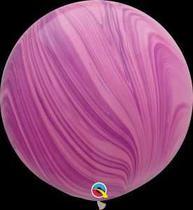 Balão Qualatex 30 R Agata Rosa Vio Super Agata - Pioneer Qualatex