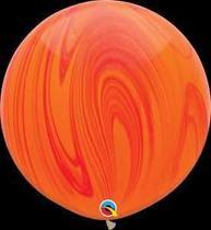 Balão Qualatex 30 R Agata Verm Lar Super Agata - Pioneer Qualatex