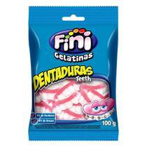 Balas de Gelatina Fini Dentaduras 100g -