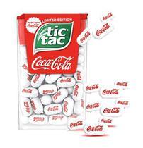 Balas tic tac sabor coca cola 18g - importado alemanha -