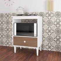 Balcão 60cm para Forno e Cooktop 4 Bocas com Gavetão Dubai BL4060 Art in Móveis -