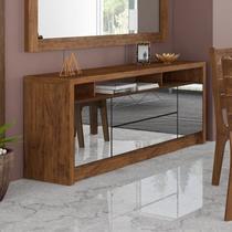 Balcão Buffet para Sala de Jantar com Espelho MDF - Nobre - Dalla costa
