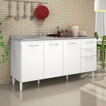 Balcão de Cozinha para Pia 3 Portas Nicioli -