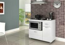 Balcão de Fogão Para Cooktop 5 Bocas - Completa Moveis - Completa móveis
