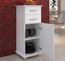 Balcão Multiuso Cozinha Quarto Lavanderia 1 Porta c/ Rozinhas - Clickforte