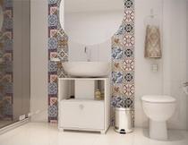 Balcão Para Banheiro Bbn 02-06 Branco BRV Móveis -