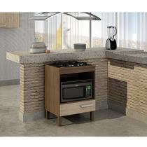 Balcão para cooktop 4 bocas e forno Decari 31101 - Palmeira