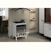 Balcão para cooktop 4 bocas e forno Decari 31105 - Palmeira
