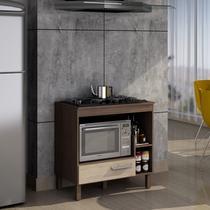 Balcão para cooktop 5 bocas e forno Decari 31201 - Palmeira
