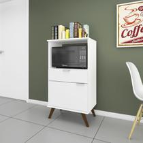Balcão para Forno/microondas Multifuncional 1 Porta 1 Gaveta 61,5cm RT 3114 - Movelbento -