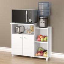 Balcão para Forno ou Microondas com Fruteira e Bebedouro 2 portas Multiuso 2358 Multimóveis -