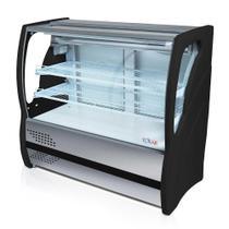 Balcão Refrigerado Expositor Bebidas Aço Inox 1,25m - Polar (ES) -