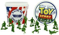 Balde 60 Soldados - Bonecos Toy Story - Disney Pixar Toyng -