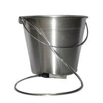 Balde de Alumínio 13 litros com Cordoalha - Plastcor. -