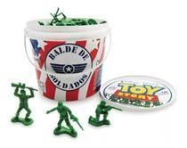Balde De Soldadinhos Com 60 Peças Toy Story - Toyng 26772 -