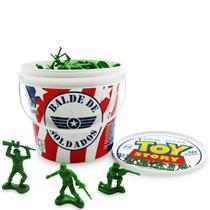 Balde de Soldados Toy Story 60 Peças - Toyng -