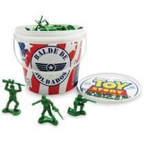 Balde De Soldados Toy Story Com 60 Peças - Toyng -