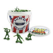 Balde de Soldados Toy Story com 60 soldadinhos Toyng -