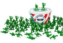 Balde De Soldados Toy Story Disney 60 Peças - Toyng 26772 -