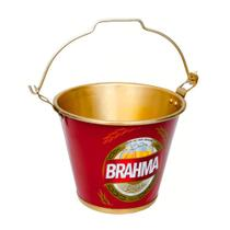 Balde em Alumínio para Gelo e Cerveja Brahma Chopp 6L -