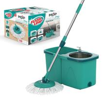 Balde Mop Giratorio PRO Para Limpeza MOP7824 Flashlimp - Flash limp -