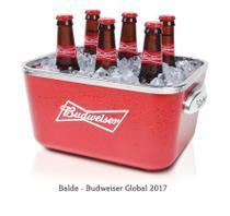 Balde para cerveja budweiser global - Ambev