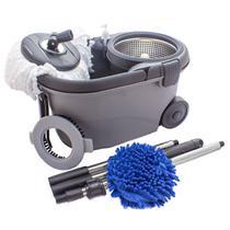 Balde Perfect Mop Move 360 Inox Com 3 Refis -