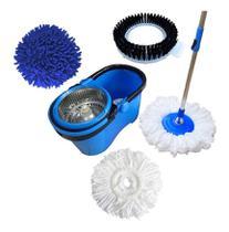 Balde Perfect Mop Pro 360 Inox Com 3 Refis -