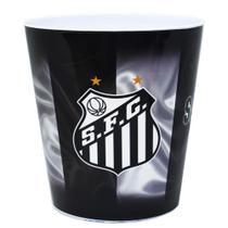 Balde Pipoca Time Santos Futebol Clube Oficial -