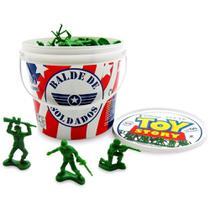 Balde Soldados Toy Story Miniaturas - Toyng -