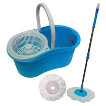 Balde spin mop 360 123 util azul ud196 - Perfect
