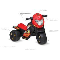 Ban Moto Moto Elétrica Banmoto Bandeirantes Preta 6V -