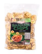 Banana chips 300g sabor cebola e salsa - Ff Chips