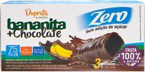 BANANINHA COM CHOCOLATE ZERO - 3UNX25g - Duprata